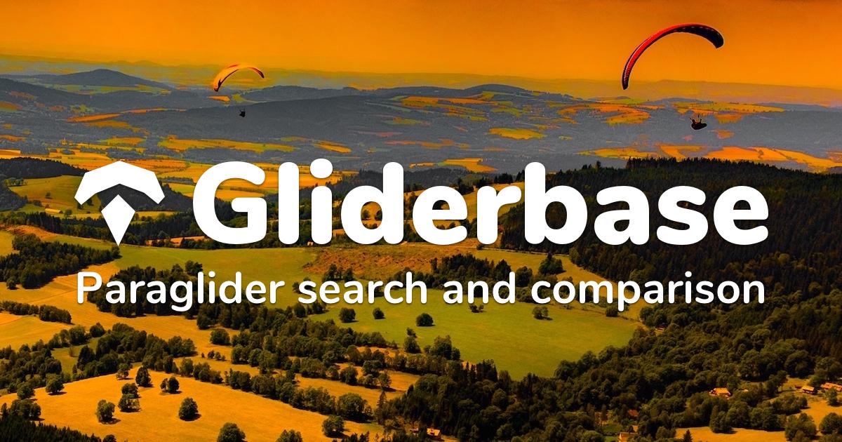 Gliderbase com – Paraglider search and comparison